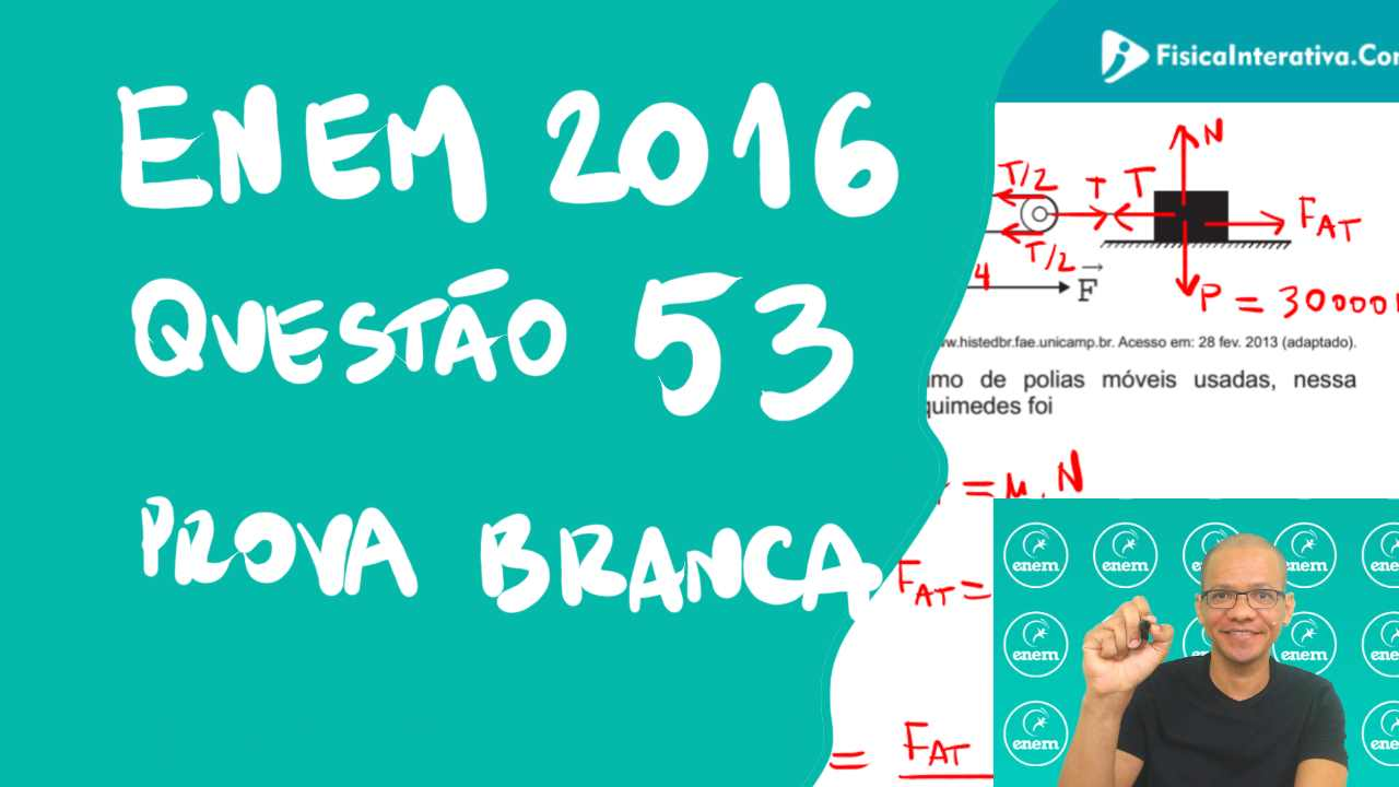 Física – ENEM 2016 – Questão 53 – Prova Branca