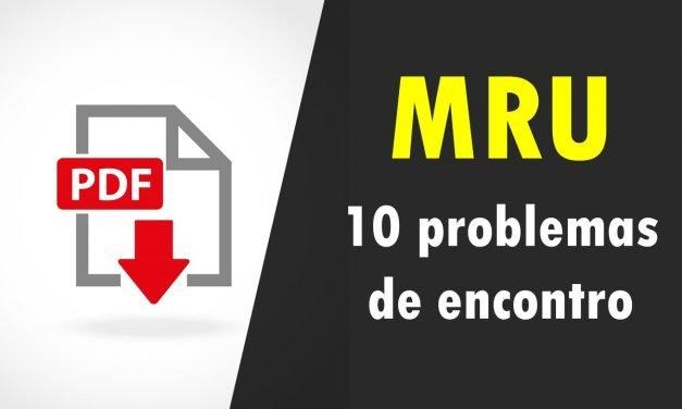 MRU – Problemas de encontro e ultrapassagem