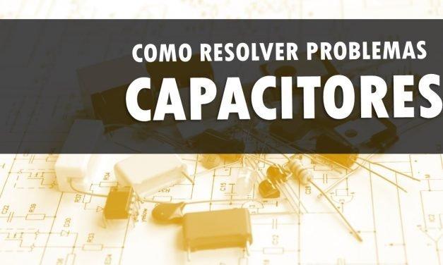Como resolver problemas de capacitores – Cálculo de carga e DDP
