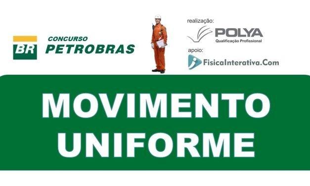 Movimento Uniforme – Concurso Petrobras 2008